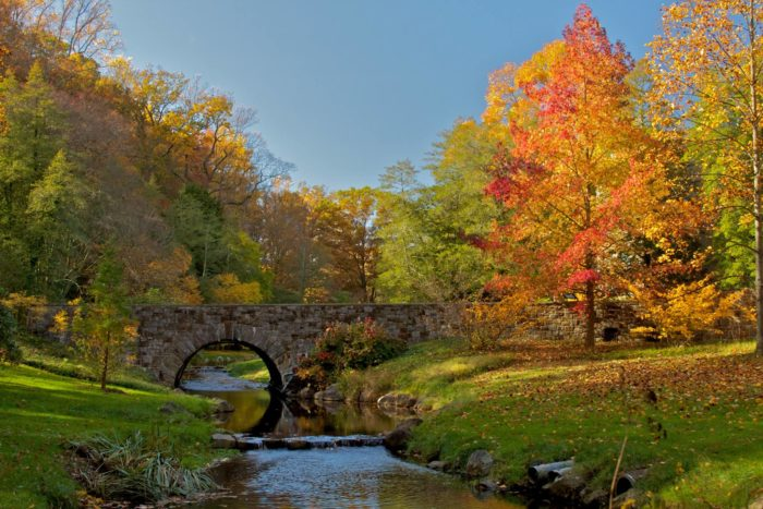 Fall is the perfect time to visit Winterthur.