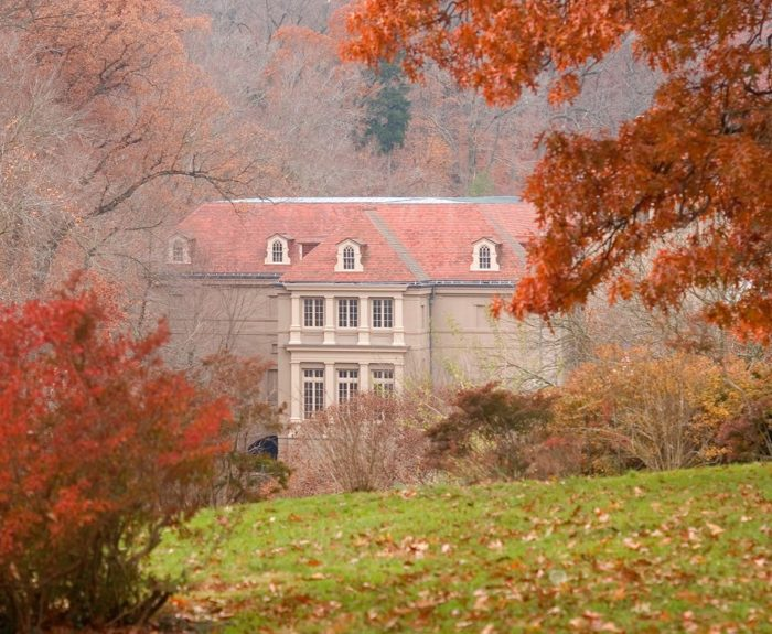 Walking the grounds at Winterthur will make you feel like you're on another planet.