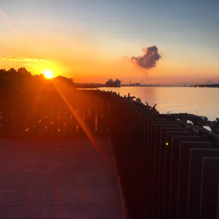 So consider visiting and exploring Crescent Park, one of the most beautiful parks in all of New Orleans.