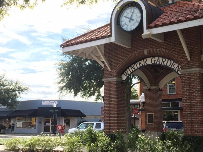 Ms. Bee's Gourmet Popcorn & Candy Shoppe is located in the Central Florida city of Winter Garden. This town is a must-stop if you're taking a trip to Orlando.