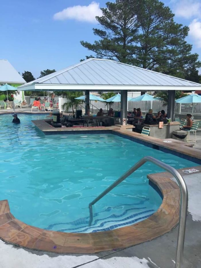 If you book for the summer, you'll also be able to enjoy the resort's pool!