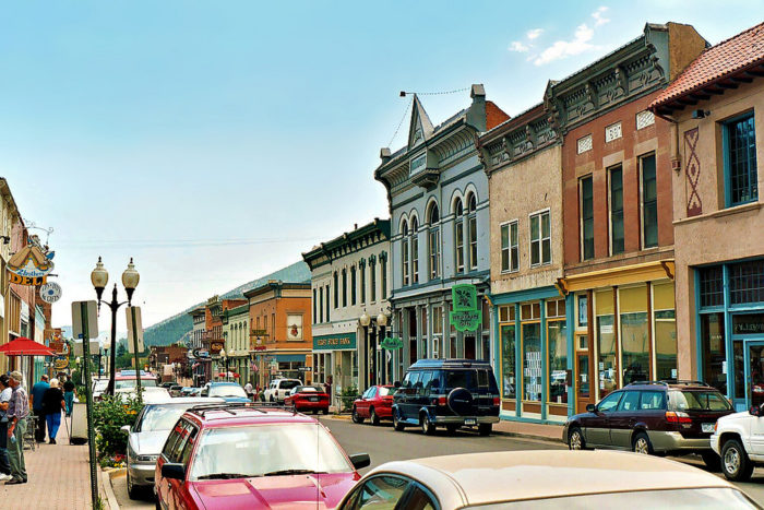 Located 30 miles west of Denver, Idaho Springs is a historic mining town of 1,717 that is tucked inside of colorful Clear Creek Canyon.