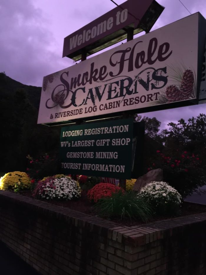 Smoke Hole Caverns Resort Is Located Near The Potomac River In Grant  County, West Virginia.