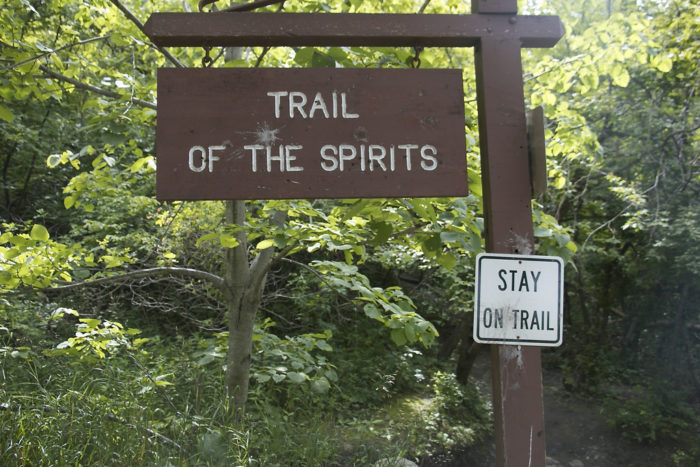 If you follow the Trail of Spirits, you may feel the lingering presence of this story.