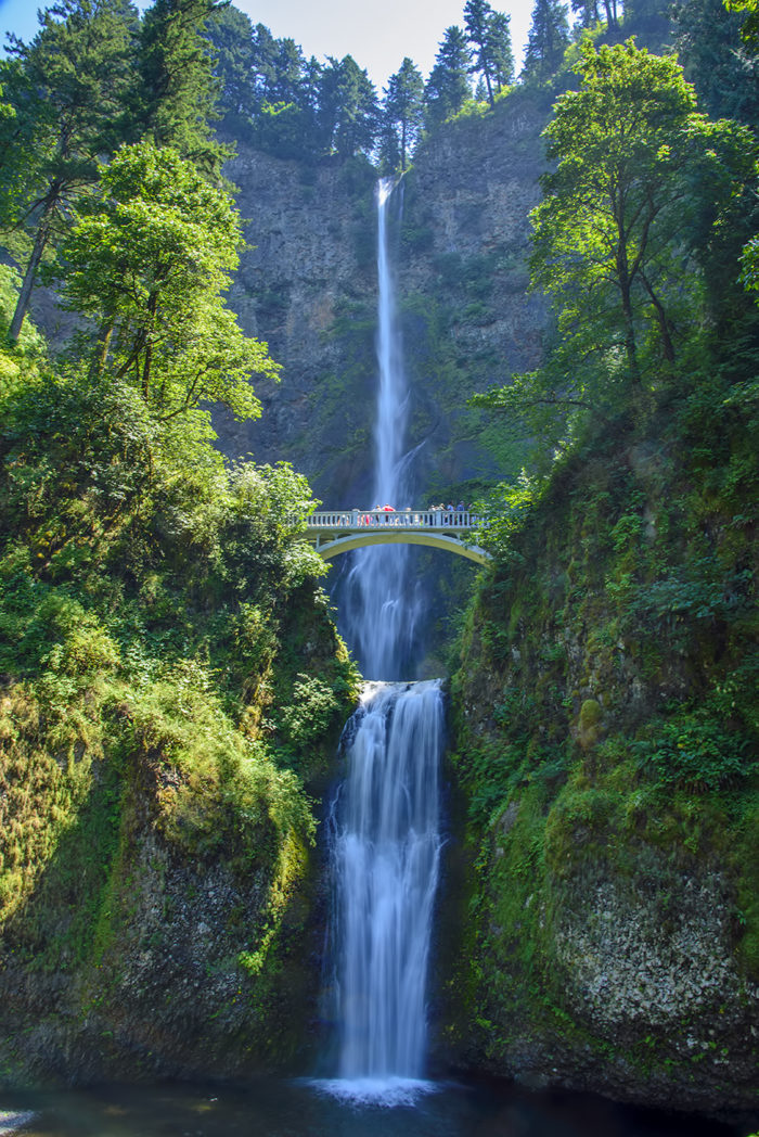 oregon falls multnomah natural portland state disasters waterfall wonders safest disaster risk reasons why onlyinyourstate