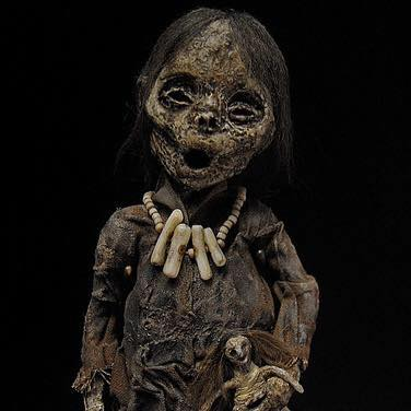 The couple's work has appeared on many TV shows, and they are currently working on their own TV series. It promises to be as hauntingly fascinating as the objects on display in the museum.