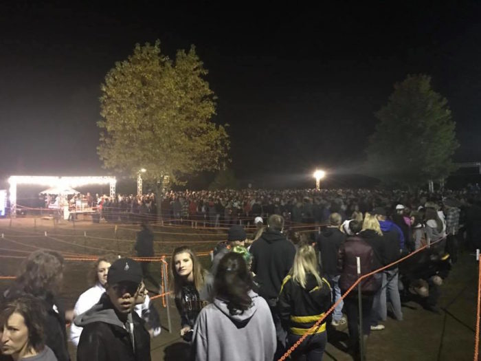 It's been recognized by local media as well as many online news sources as one of the top Halloween attractions in the country. That's why hundreds line up every night to have the daylights scared out of them.