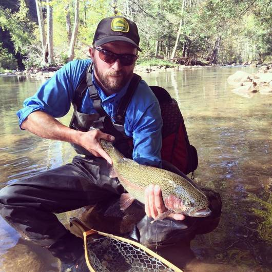 The resort area has some of the best fishing in West Virginia.