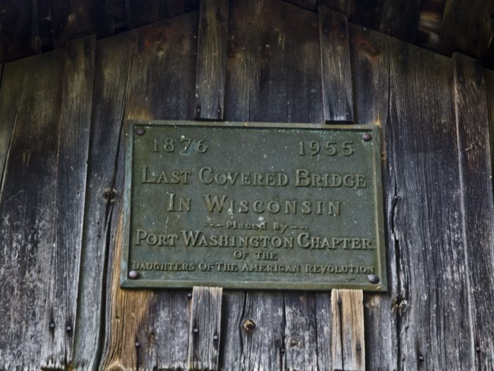 It is also home to one of the most beautiful, old covered bridges.