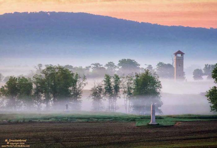 2. Antietam National Battlefield, Sharpsburg