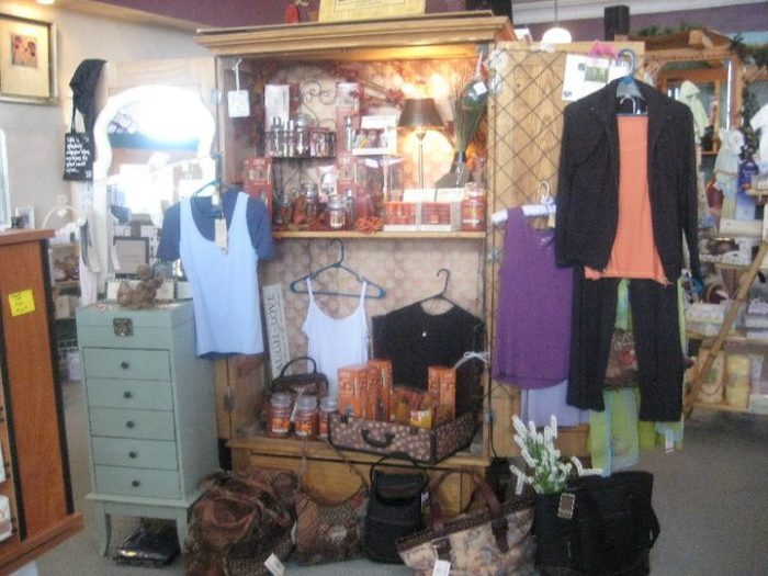 … and do some shopping at Beyond Necessity Gifts up the street at 301 East Park Avenue.