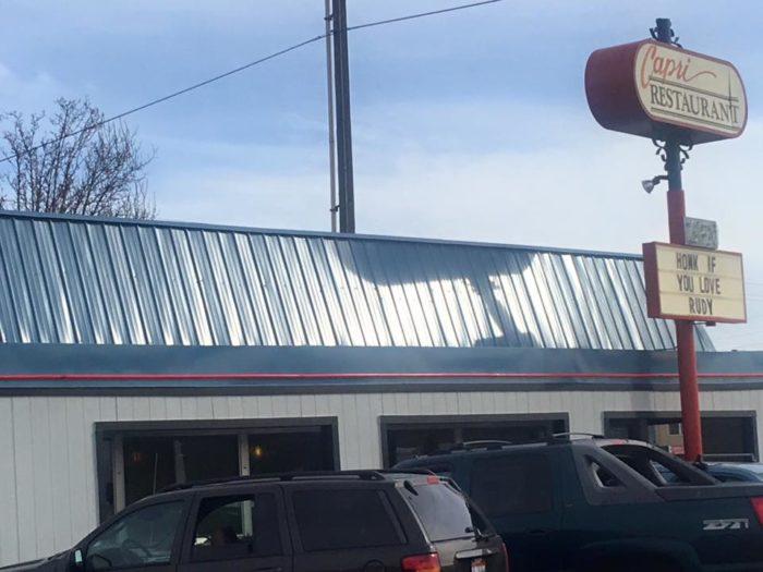 1. Capri Restaurant, Boise