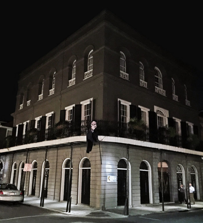 1. LaLaurie Mansion, 1140 Royal St., New Orleans