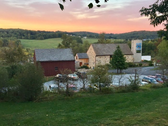 Experience life on a farm when you visit Wyebrook Farm, a working farm dedicated to producing healthy food free of pesticides and other dangerous chemicals.