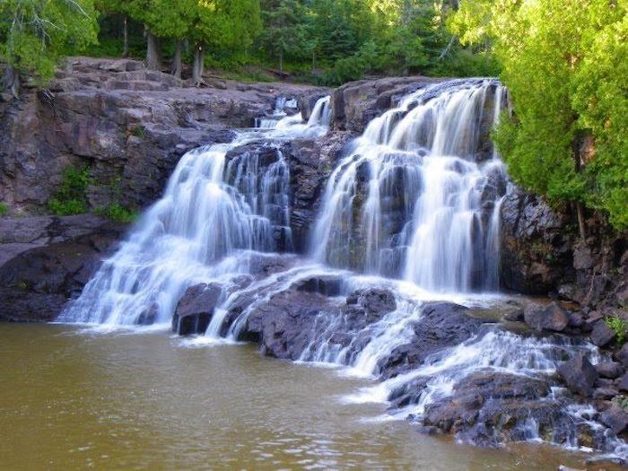 8. Gooseberry River Loop in Gooseberry Falls State Park - 1.2 miles
