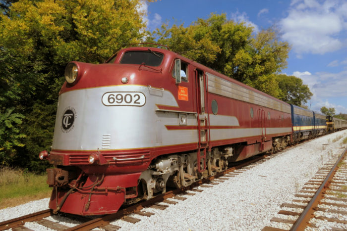 10. The Tennessee Central Railway puts on some serious fall foliage tours.