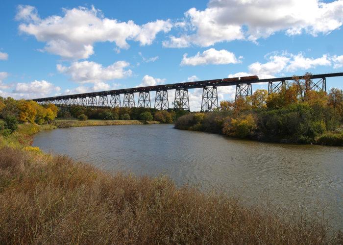 ...To massive railroad bridges.