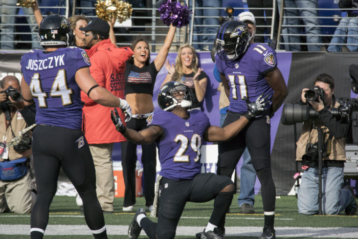 3. A Ravens win.