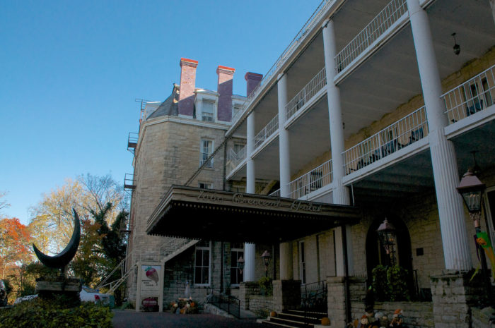 . . . the most haunted hotel in America . . .
