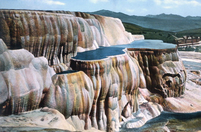 7. Travertine Terraces At Mammoth Hot Springs