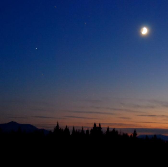 11. Moonlight in Vermont.
