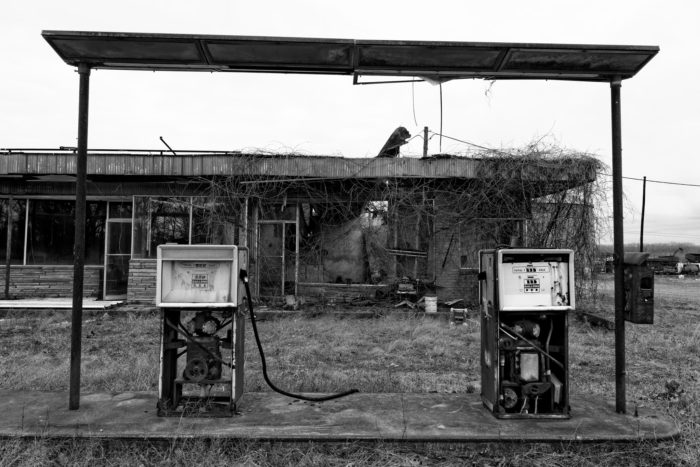 1. This abandoned service station in White County.
