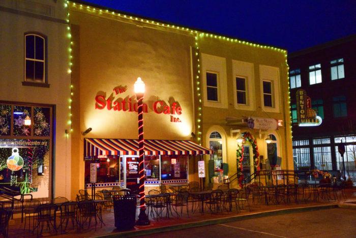8. Station Cafe (Bentonville)