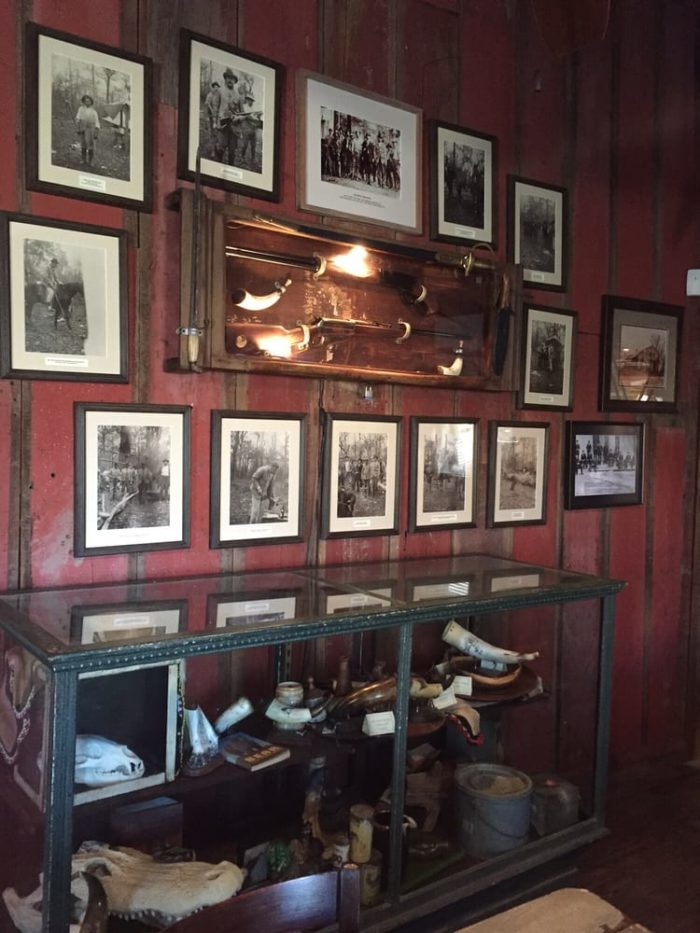 Once you finish your meal, take some time to look around the store. You'll find plenty of old photos and historical artifacts.