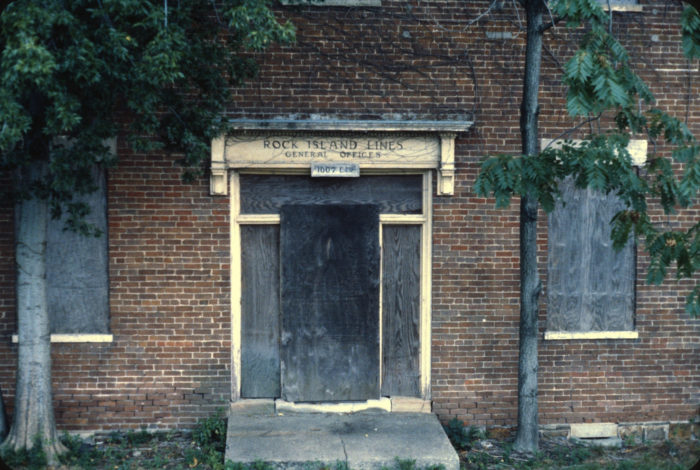 12.	The old general office of the Rock Island Line in Little Rock
