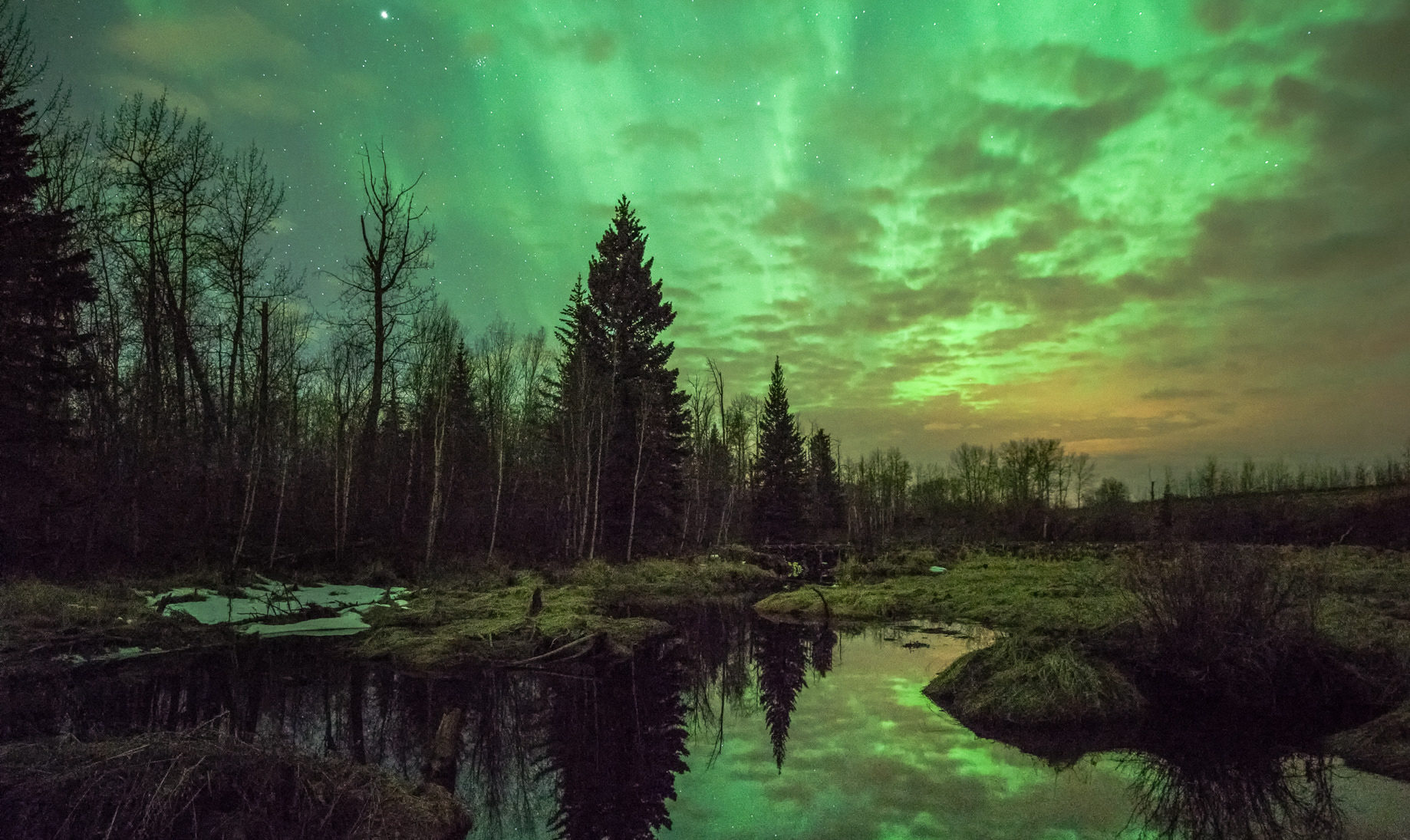 The Dancing Night Sky In Maine Was Captured In All Its