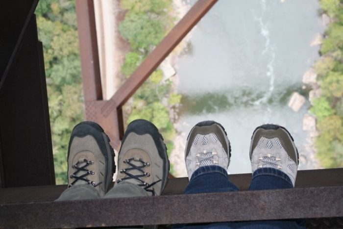 Don't look down if you're afraid of heights!
