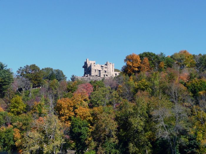 You'll even get a view of the famous Gillette Castle! If you love visiting the castle's estate you'll absolutely adore the way it stands tall above the river.
