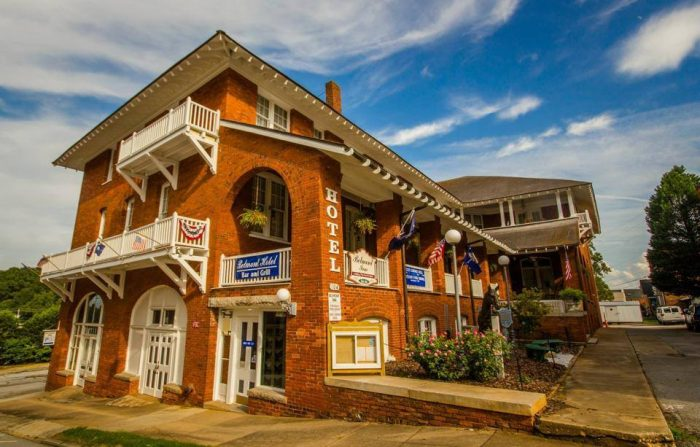19. Spend the night in a haunted hotel at The Belmont Inn - Abbevile, SCAlways open