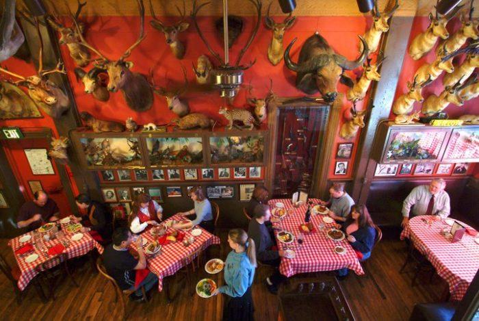 8. Dine at Denver's oldest steakhouse.