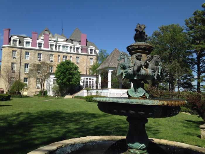 9. Crescent Hotel (Eureka Springs)