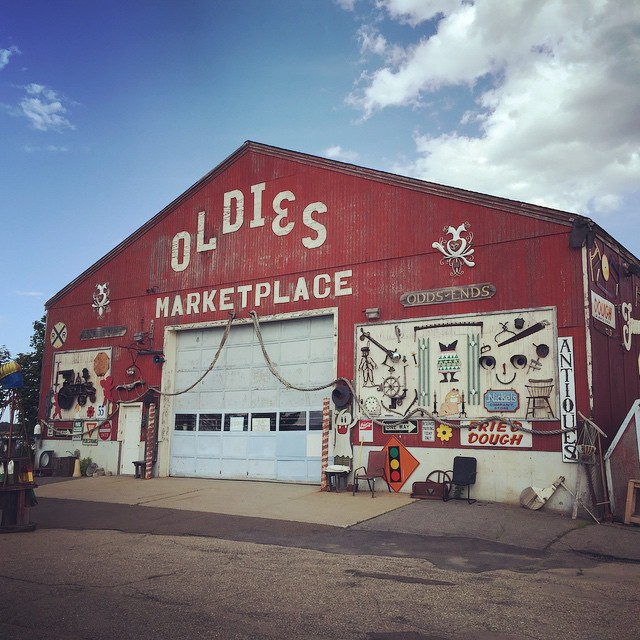 Located moments from the water and only steps from downtown Newburyport, Oldies marketplace is a massive barn filled to the brim with the coolest antiques around.