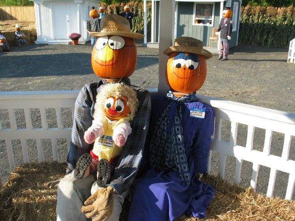 The Pumkinheads, of course! Leroy Butternut and Penelope Parton were its very first residents, and you can meet them and all 70 of their friends when you visit.