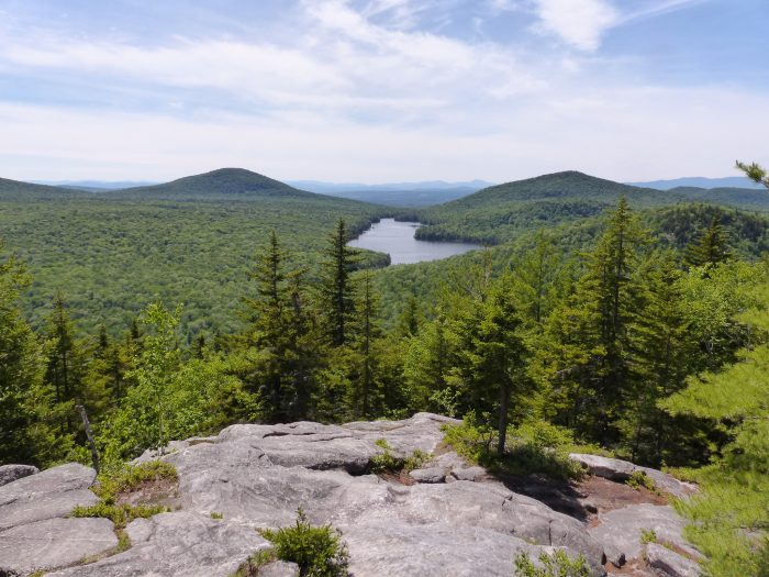 This short hike is only ½ mile and in about 30 minutes you'll be at the summit of Owl's Head in Groton State Forest.