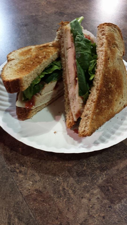 Their sandwiches and soups are simple, yet delicious. Try the roasted turkey sandwich with swiss cheese, fresh spinach, red onion and cranberry mustard on wheat toast.