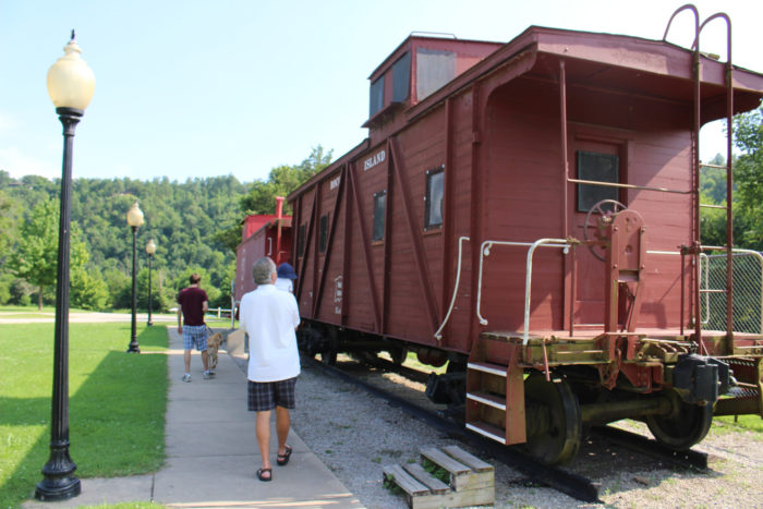 You can visit the Anglin-Tinnon Railroad Workers Memorial in Big Springs Park.