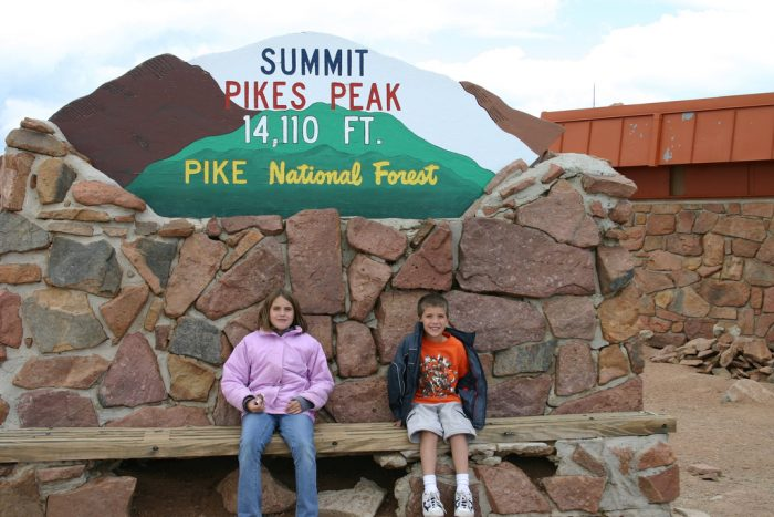 Standing tall at 14,110 feet, Pikes Peak offers what is by far one of the most incredible 360 degree views in all of Colorado (whether you make it to the gateway at 7,400 feet or the tippy top of the summit).