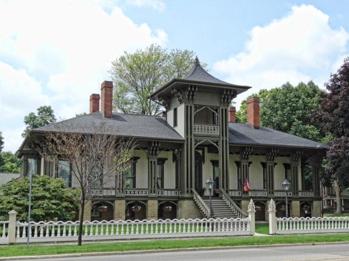Your walk through Marshall will show you some of the most beautiful Victorian-style homes in the state of Michigan, including the famous Honolulu House.