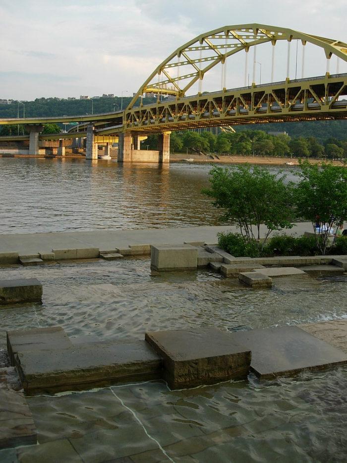 2. Water Steps
