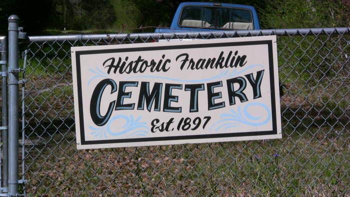 2. Franklin Cemetery a.k.a. Garden of Hope Cemetery, Gautier - 2813 Chamberlain Rd., Gautier