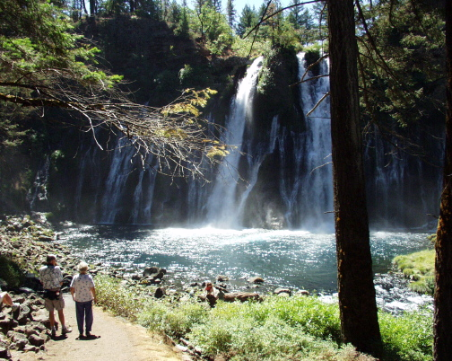 You Can Camp At Burney Falls In Northern California