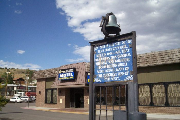 The Cell Block Steak House is located in the Jailhouse Motel and Casino in Ely. The old City Hall once stood on this site, and the jailhouse inside housed some of Nevada's most notorious criminals.