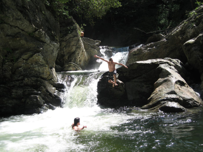 9.  You firmly believe that natural swimming holes are the best water parks around.