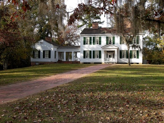 Folks who can't complete the hike can still see some amazing views from the historic Gregory House that overlooks the Apalachicola River. Guided tours of the home, filled with furnishings from the 1850s, are given daily.