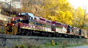 Take This Fall Foliage Train Ride Through Massachusetts For A One-Of-A-Kind Experience
