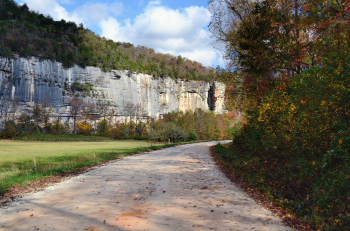 3. This dirt road near the Buffalo National River.